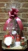 Christmas gift basket with Spumante Rose
